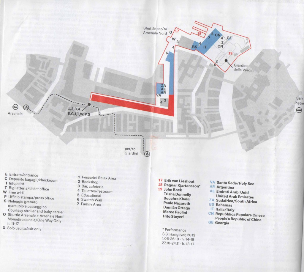 mapa arsenale